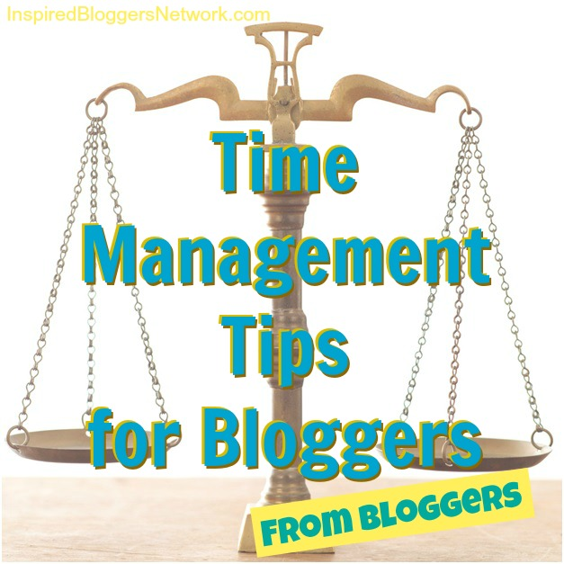Lots of time management tips for bloggers from the bloggers of the Inspired Bloggers Network