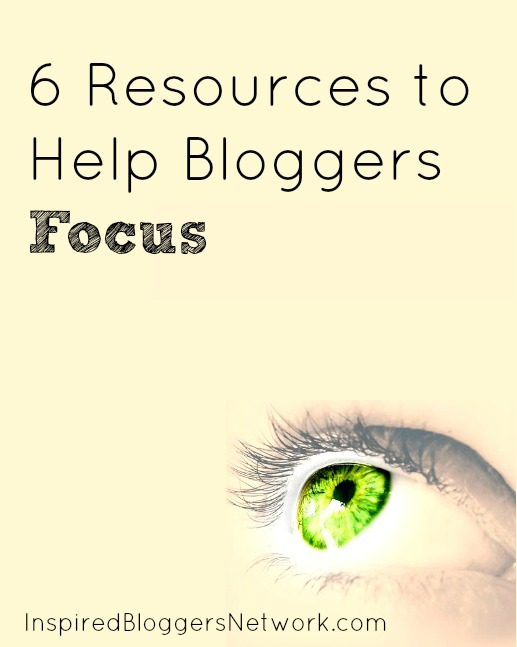 6 resrouces that can help bloggers focus, find balance, and get more done.