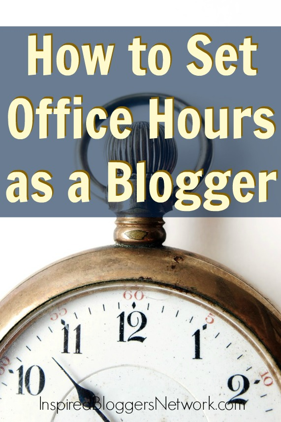 Help setting office hours for bloggers