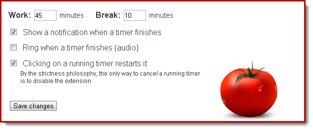Using the Chrome extension Strict Workflow to help abide within your office hours.
