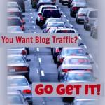 Blog Traffic: Go Get It