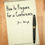 How to Prepare for a Conference