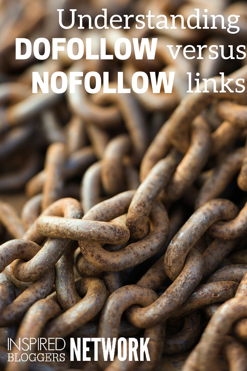 An easy way to understand the difference between nofollow and nofollow links.