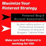 Pinterest Blog and Account Assessments