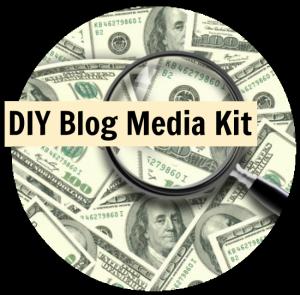 DIY blog media kit featured