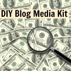 DIY Blog Media Kit