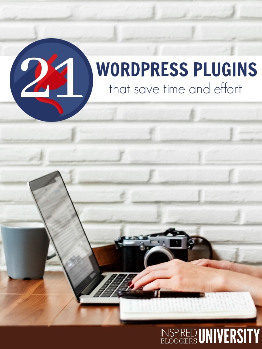 Smart bloggers use these WordPress plugins that save time because they do the work for you.