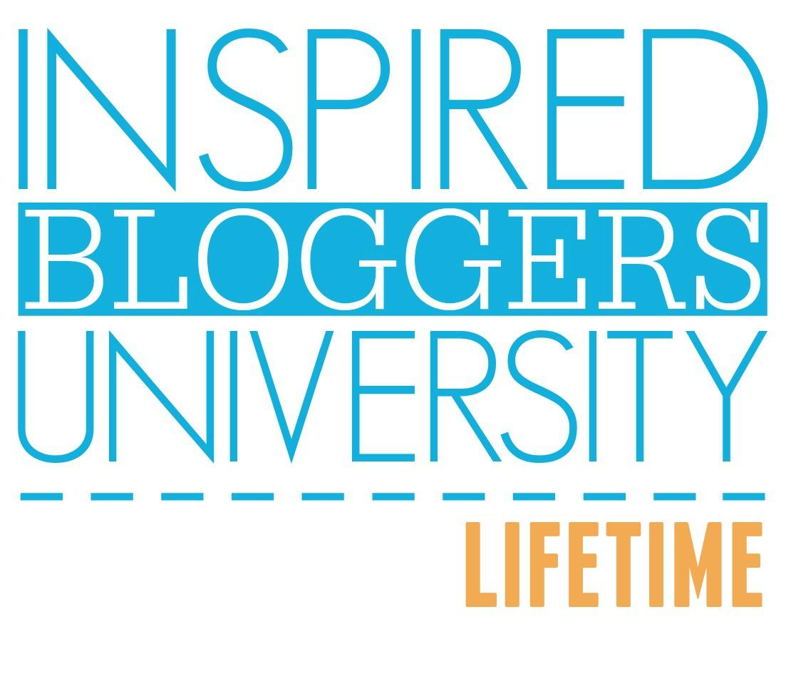 Inspired Bloggers University lifetime
