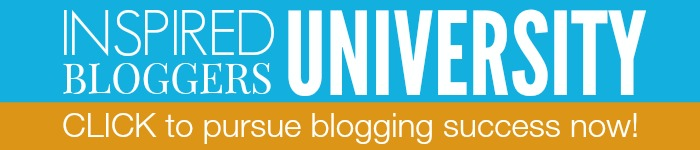 Join the Inspired Bloggers University before April 15th and save 15%.