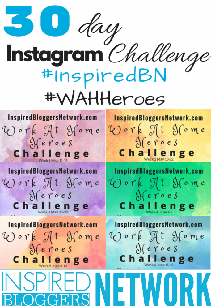 Celebrate Work-at-Home Moms And Dads Instagram Challenge