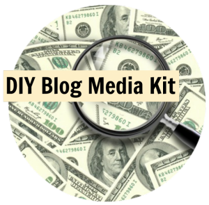 DIY blog media kit
