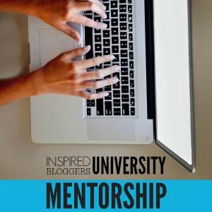 Blog Mentorship