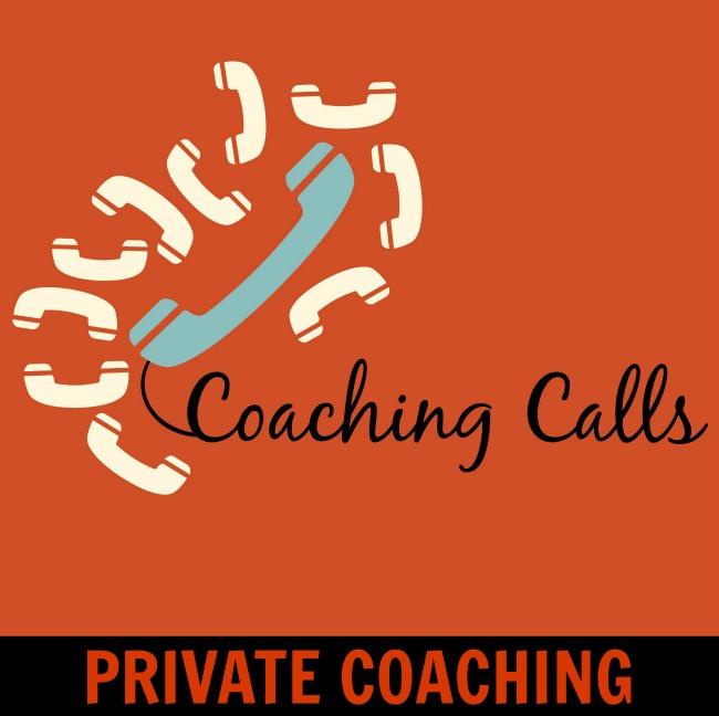 PRIVATE blogger coaching calls