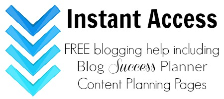 Access our free member library including the Blog Success Planner  Content Planning Pages.