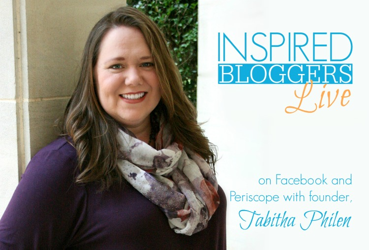 inspired bloggers live schedule