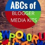 ABCs of Blog Media Kits with Free Blog Media Kit Template