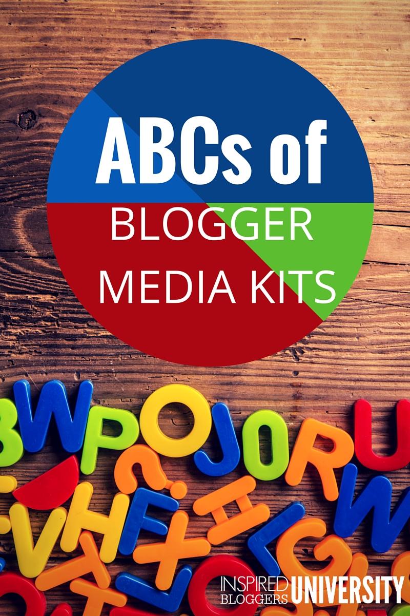 blog media kit cheat sheet facebook ad