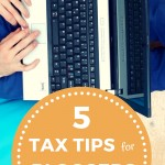 5 Tax Tips for Bloggers
