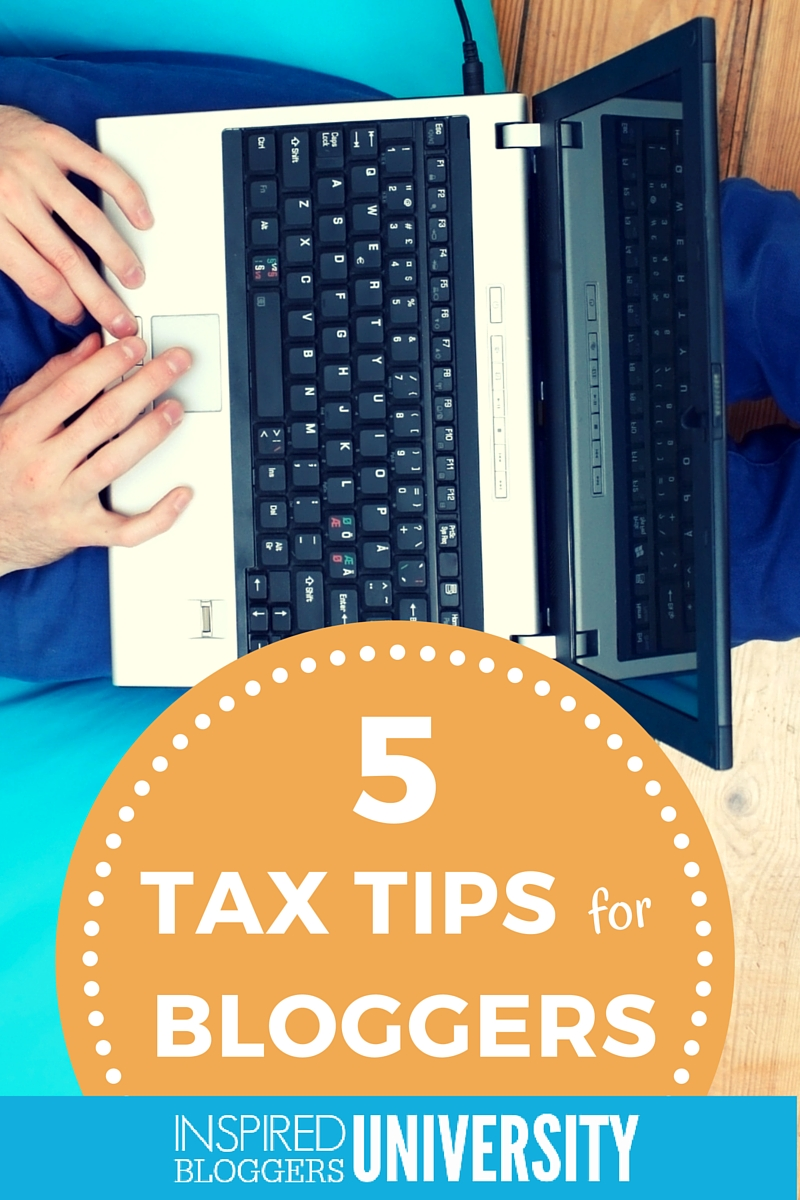 I had no idea some of this was counted as income! If you are a blogger, you need to read these tax tips.