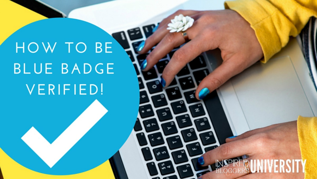 What does the new Facebook Branded Content Policy mean for bloggers. Includes a tutorial on how to get the verified blue badge.
