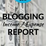 March Blogger Income Expense Report 2016