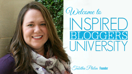 Welcome to Inspired Bloggers University