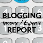 April Blogger Income Expense Report 2016