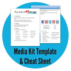 Media Kit for Bloggers - Free Blogging Resources