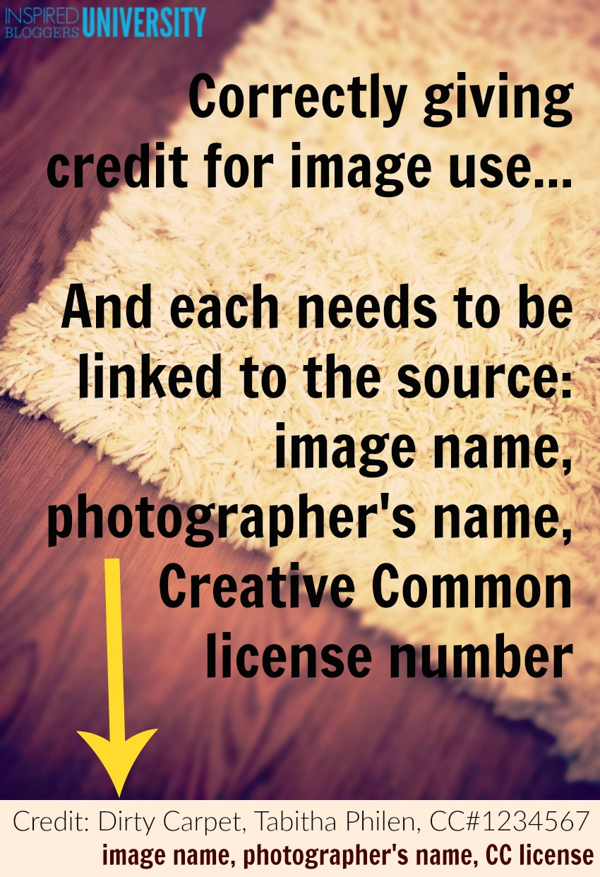Are you crediting free stock photos correctly? Did you know there was a specific order to attribution and that you needed to link to the source? Includes a long list of places to get royalty free images.
