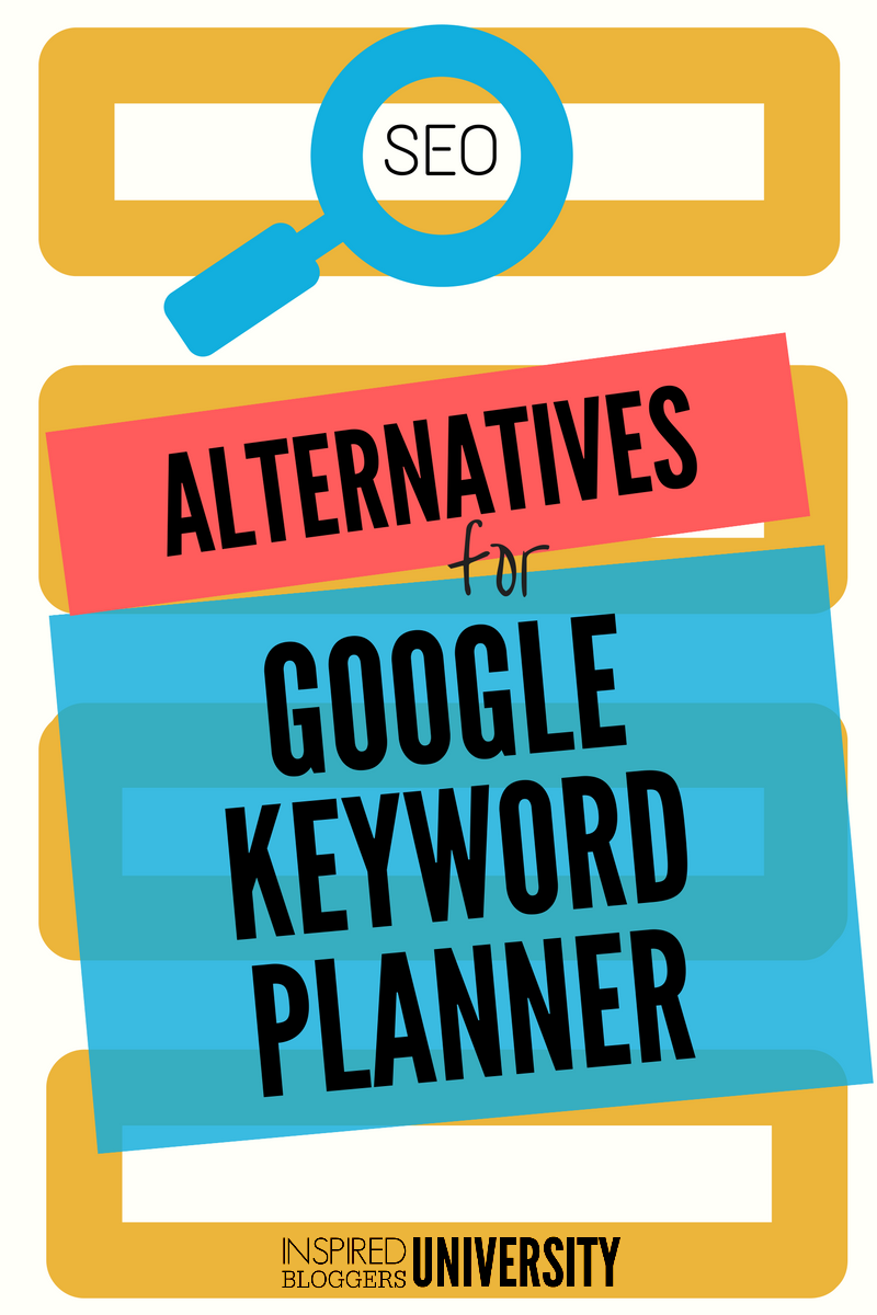 Looking for Google Keyword Planner alternatives after the recent change in Google's keyword research tool? Find a new favorite here!