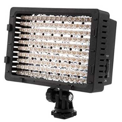 dimmable lighting for video