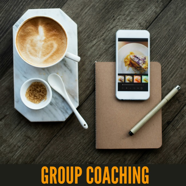 Group Coaching for Bloggers - 6 weeks of access for $30. That's a no-brainer!