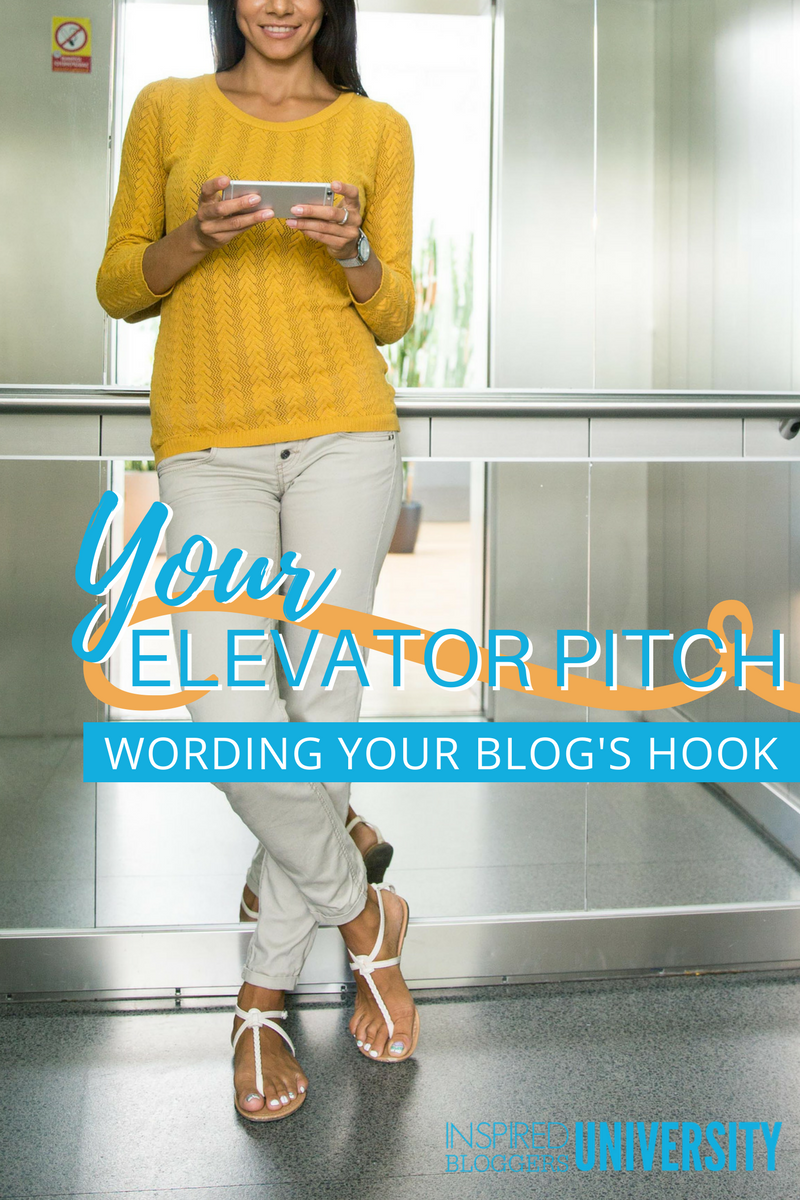 If you have a hard time talking about your blog, you need an elevator pitch. Learn how to write one and never be at a loss for words again.