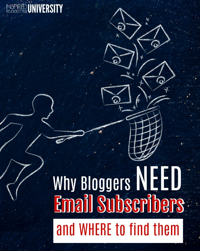 You need email subscribers, but do you know why?